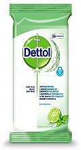 Kup Antybakteryjne chusteczki do mycia i dezynfekcji powierzchni - Dettol Antibacterial Cleansing Surface Wipes