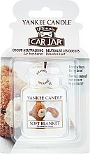 Kup Zapach do samochodu - Yankee Candle Car Jar Ultimate Soft Blanket