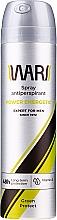 Kup Energetyzujący antyperspirant w sprayu dla mężczyzn z witaminą E - Wars Expert For Men Energetic Green Protect