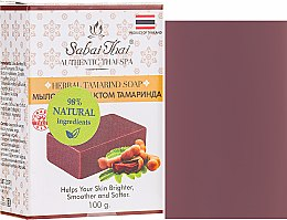 Kup Mydło w kostce z ekstraktem z tamaryndowca - Sabai Thai Herbal Tamrind Soap