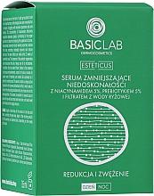Kup Serum zmniejszające niedoskonałości z 5% niacynamidem, 5% prebiotykiem i filtratem wody ryżowej - BasicLab Dermocosmetics Esteticus