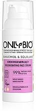 Kup Rewitalizujący krem do twarzy dla skóry wrażliwej - Only Bio Bakuchiol & Squalane Regenerating Cream