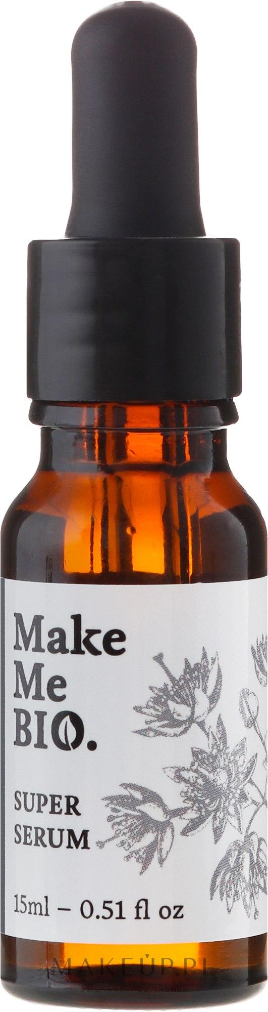 Intensywnie regenerujące serum do twarzy - Make Me Bio Super Serum — фото 15 ml
