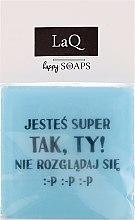 Kup Naturalne mydło ręcznie robione o zapachu owocowym - LaQ Happy Soaps Short Message Soap