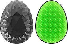 Kup Szczotka do włosów Czarno-zielona - Twish Spiky Hair Brush Model 2 Midnight Black