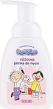 Kup Różowa pianka do mycia rąk i ciała - Bambino Dzieciaki
