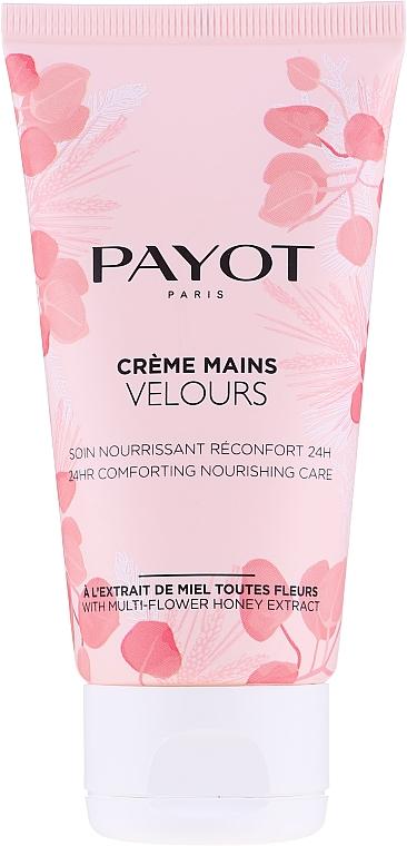 Krem do rąk - Payot Creme Mains Velours 24Hr Comforting Nourishing Care Multi-Flower Honey Extract Hand Cream  — фото N1