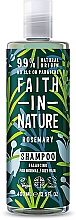 Kup Szampon do włosów normalnych i przetłuszczających się Rozmaryn - Faith In Nature Rosemary Shampoo