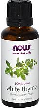 Kup Olejek eteryczny z białego tymianku - Now Foods Essential Oils 100% Pure White Thyme