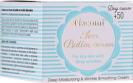 Kup Krem do twarzy z masłem shea na dzień - Nacomi Shea Cream 50+
