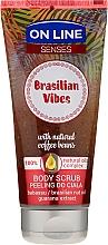 Kup Peeling do ciała z olejami babassu i z orzechów brazylijskich i ekstraktem z guarany - On Line Senses Brasilian Vibes