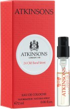 Kup Atkinsons 24 Old Bond Street - Woda kolońska (próbka)