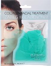 Kup PRZECENA! Płat kolagenowy z zieloną herbatą i witaminami - Beauty Face Collagen Hydrogel Mask*