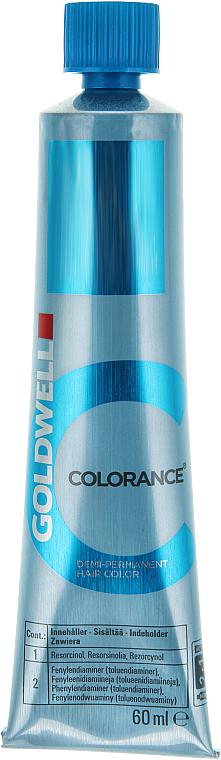 PRZECENA! Krem bez amoniaku do półtrwałej koloryzacji włosów - Goldwell Colorance Demi Permanent Hair Color * — фото N4