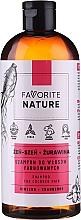 Kup Szampon do włosów farbowanych Żeń-szeń i żurawina - Favorite Nature Shampoo For Colored Hair Ginseng & Cranberry