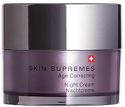 Kup Krem do twarzy na noc - Artemis of Switzerland Skin Supremes Age Correcting Night Cream