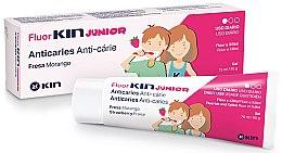 Kup Truskawkowy żel do zębów dla dzieci - Kin Fluorkin Junior Strawberry Anticaries Gel