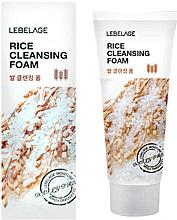 Kup Oczyszczająca pianka ryżowa - Lebelage Rice Cleansing Foam
