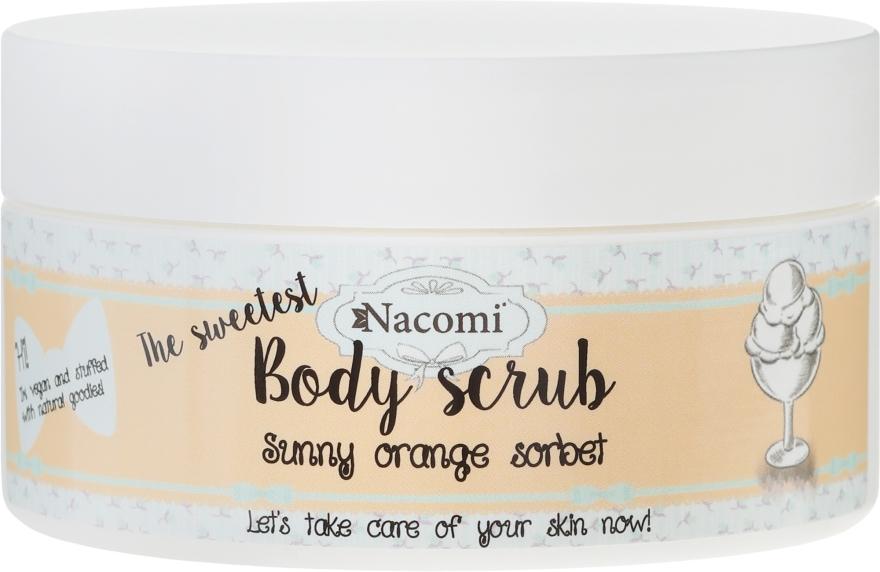 Cukrowy peeling do ciała Pomarańczowy sorbet - Nacomi