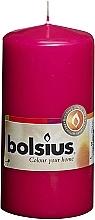 Kup Świeca cylindryczna, fuksja, 120/58 mm - Bolsius Candle