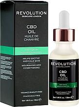 Kup Odżywczy olejek kondycjonujący do twarzy - Revolution Skincare Nourishing CBD Oil