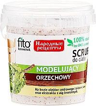 Kup Orzechowy scrub do ciała spalający tłuszcz - Fitokosmetik Przepisy ludowe