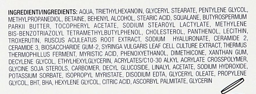 Nawilżająco-łagodzący krem do cery bardzo wrażliwej - Collistar Rehydrating Soothing Treatment Cream — фото N6