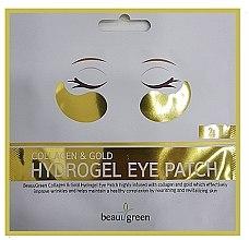 Kup Hydrożelowe płatki pod oczy z kolagenem i złotem - BeauuGreen Collagen & Gold