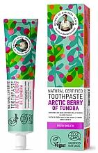 Kup Naturalna pasta do zębów Arktyczne jagody Tundry - Receptury Babci Agafii