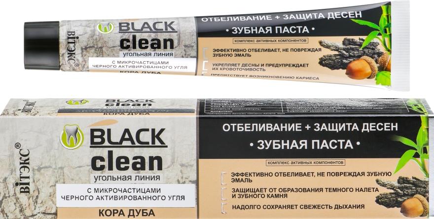 Pasta do zębów z węglem aktywnym Wybielanie + ochrona dziąseł - Vitex Black Clean