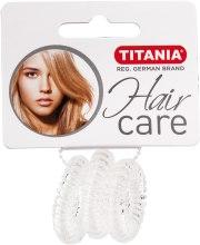 Kup Gumki do włosów plastikowe Anti Ziep, przezroczyste, 3 szt, średnica 2,5 cm - Titania