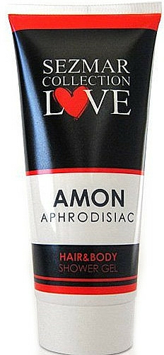 Żel pod prysznic do włosów i ciała z afrodyzjakami Miłość - Sezmar Collection Love Amon Hair&Body Shower Gel — фото N1