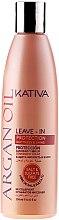 Kup Lekka odżywka bez spłukiwania Olej arganowy - Kativa Argan Oil Leave-In Protection Softness & Shine