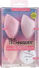 Kup Zestaw gąbeczek do makijażu - Real Techniques Summer Haze Blend & Glow Kit 4187 (brush cleanser/30g + sponge/3pcs)