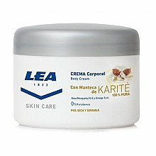 Kup Odżywczy krem do ciała z masłem shea - Lea Skin Care Body Cream With Karite Butter