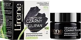 Kup Skoncentrowany krem przeciwzmarszczkowy 50+ Organiczny czarny tulipan - Lirene Black Tulip