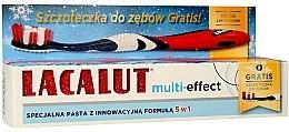 Kup Zestaw do zębów - Lacalut Multi-Effect (t/paste 75 ml + t/brush)