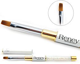Kup Płaski pędzelek do manicure - Reney Cosmetics Pro Flat AN04