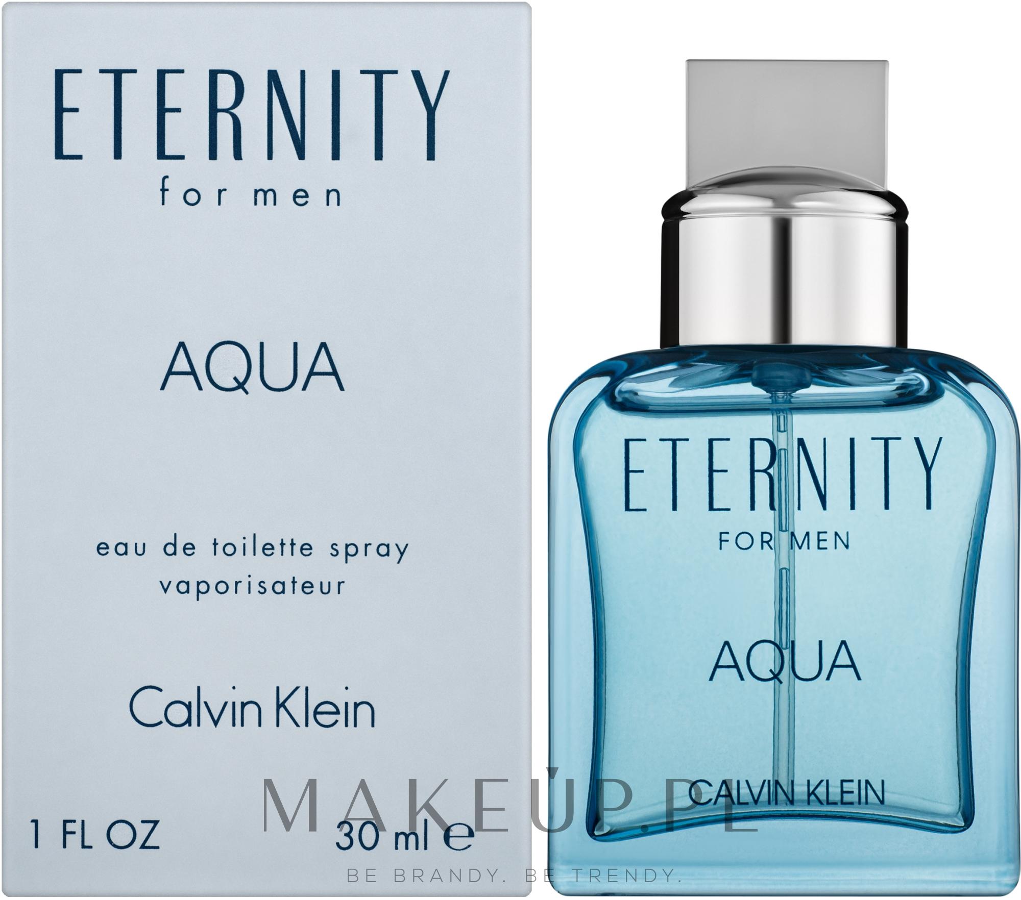 Calvin Klein Eternity Aqua For Men - Woda toaletowa — фото 30 ml