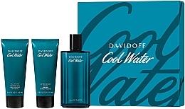 Kup Davidoff Cool Water - Zestaw (edt 125 ml + sh/gel 75 ml + ash/balm 75 ml)