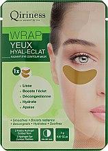 Kup Hydrożelowe płatki odmładzające pod oczy - Qiriness Wrap Yeux Hyal-Eclat Radiant Eye Patches