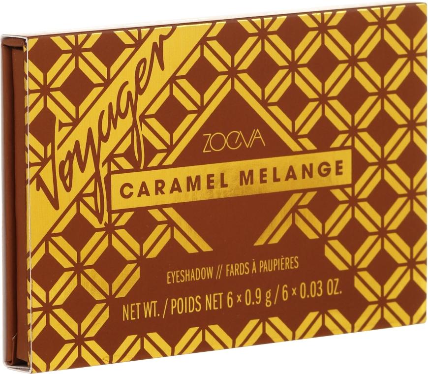 Paleta cieni do powiek - Zoeva Caramel Melange Voyager — фото N2
