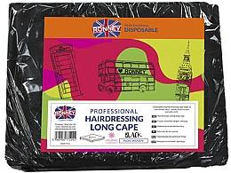 Kup Peleryna fryzjerska, długa, czarna - Ronney Professional Hairdressing Long Cape