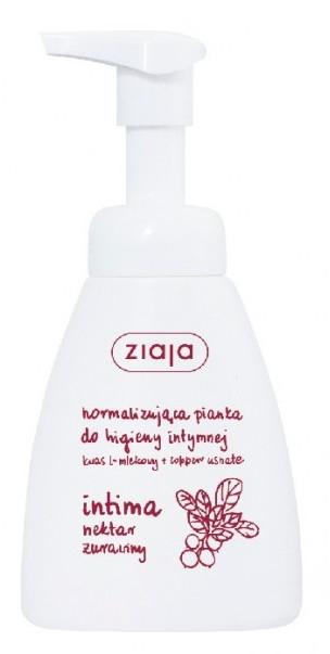 Normalizująca pianka do higieny intymnej Nektar żurawiny - Ziaja Intima
