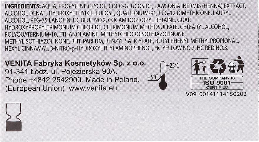 PRZECENA! Balsam koloryzujący z ekstraktem z henny - Venita Henna Color * — фото N3