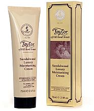 Kup Nawilżający krem do twarzy Drzewo sandałowe - Taylor of Old Bond Street Sandalwood Moisturising Cream
