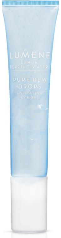 Nawilżający żel pod oczy - Lumene Lahde [Spring Water] Pure Dew Drops Hydrating Eye Gel — фото N1