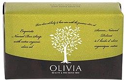 Kup Naturalne mydło w kostce z oliwą z oliwek - Olivia Beauty & The Olive Tree Natural Bar Soap Extra Olive Oil