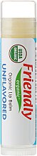 Kup Bezzapachowy organiczny balsam do ust - Friendly Organic Lip Balm Unflavored