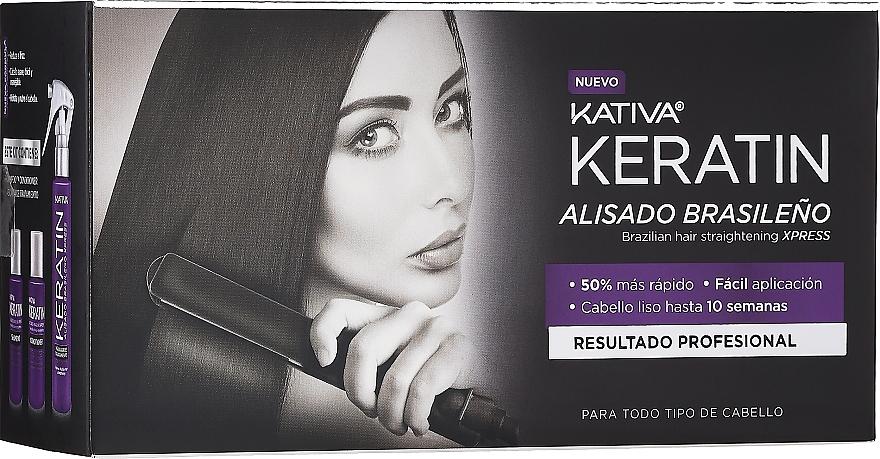 Zestaw - Kativa Keratin (shm/35ml + cond/35ml + mask/100ml)